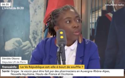 """Vidéo – France info : """"La France insoumise est le groupe qui s'est le plus opposé à la loi asile immigration"""" (06/10/18)"""