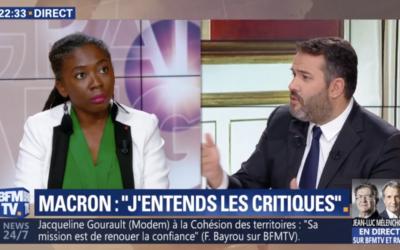 """Vidéo – BFMTV : """"Il n'y a rien à saluer dans le discours d'Emmanuel Macron"""""""