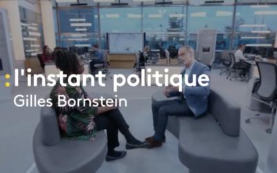 """Video – Franceinfo : perquisitions, budget et Européennes, Danièle Obono invitée de  """"L'instant politique"""""""