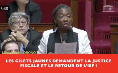 """Vidéo – Question au gouvernement : """"M. le 1er ministre, quand allez-vous enfin faire contribuer les riches ?"""" #Giletsjaunes"""