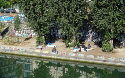 Communiqué – Traitement des migrant·es : la honte de la République aux portes de Paris !