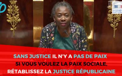 Vidéo – Projet de loi sur la Justice : SANS JUSTICE, IL N'Y A PAS DE PAIX POSSIBLE OU SOUHAITABLE !