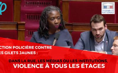 """Vidéo – Semaine de contrôle parlementaire : """"M. le ministre, reconnaissez-vous un usage disproportionné de la force policière ?"""""""