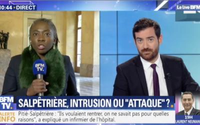 Actu – Pitié Salpêtrière : stop aux fake news du gouvernement !