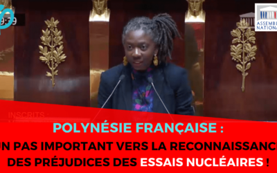 Polynésie française : reconnaître et réparer les préjudices subis à cause des essais nucléaires