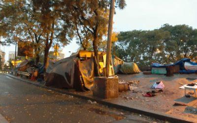 Communiqué – Évacuation des campements de migrant·es :  il faut des solutions durables !
