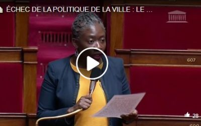 Question orale – Politique de la ville : le gouvernement doit revoir sa copie !