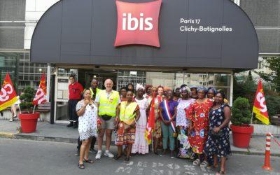 Droits – Grève à l'hôtel Ibis Batignolles : une lutte sociale, féministe et écologiste