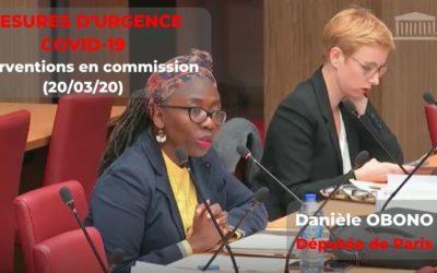 Commission – COVID-19 : urgence sanitaire, sociale et démocratique