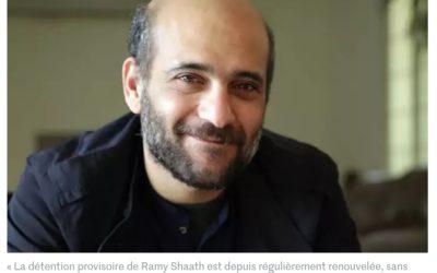 Tribune – Egypte : liberté pour Ramy Shaat et tous·tes les prisonniers·es politiques