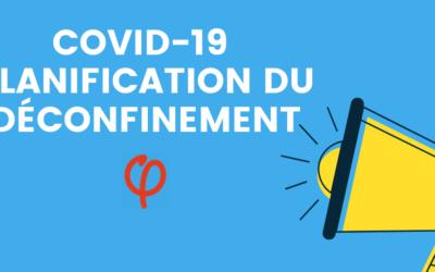 COVID-19 – Planification du déconfinement : auditions LFI