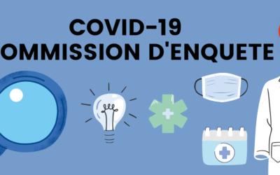 COVID-19 – Commission d'enquête LFI : auditions sur l'outre-mer