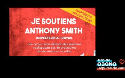 Travail – Protection des salarié·es : rassemblement en soutien à Anthony Smith