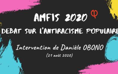 Amfis 2020 : face à l'offensive raciste et réactionnaire, débattons et luttons !