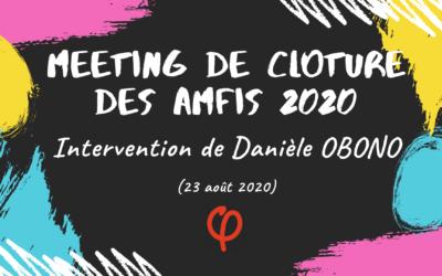Amfis 2020 – Meeting de clôture : contre les violences sociales, sexistes, racistes…on se lève et on lutte !