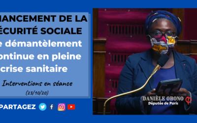 Séance – Financement de la Sécurité sociale : la casse du service public