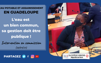 Commission – Eau et assainissement en Guadeloupe : pour une régie publique et participative