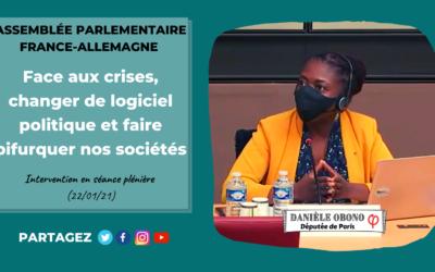 """Séance – Assemblée parlementaire France-Allemagne : pas de """"retour à la normale"""" néolibérale"""