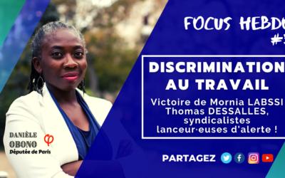 Focus hebdo #3 : lutter contre les discriminations au travail