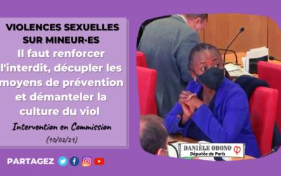 Commission – Violences sexuelles sur mineur·es : il faut une protection d'ampleur