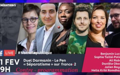 Débat #NotreRepublique : écrire ensemble l'histoire de notre émancipation collective