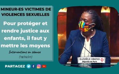 Séance – Mineur·es victimes de violences sexuelles : rendre justice et prévenir