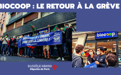 Mobilisations – Biocoop : le retour à la grève