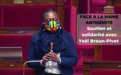 Seance – Anti-sémitisme : soutien à Yaël Braun-Pivet