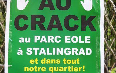 Communiqué – Crack à Paris 19e : il faut une stratégie globale et des moyens d'ampleur